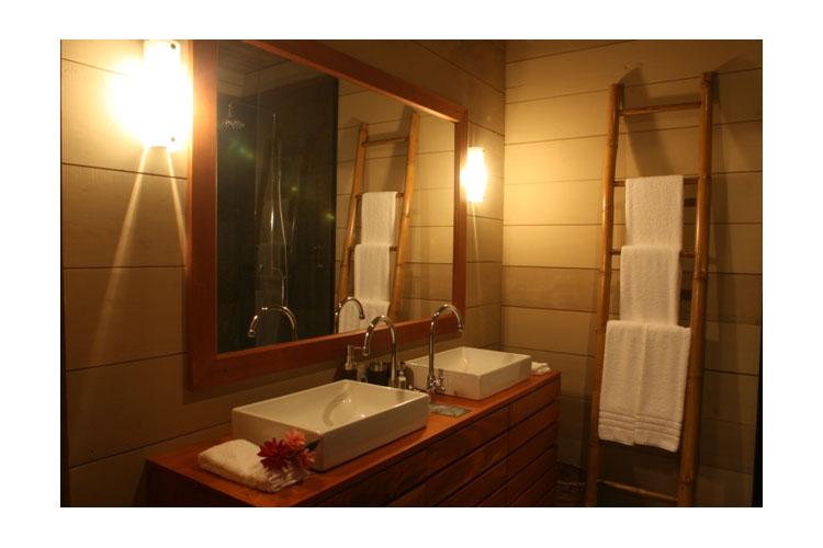 Bathroom - Hamadryade Lodge - Puerto Misahuallí