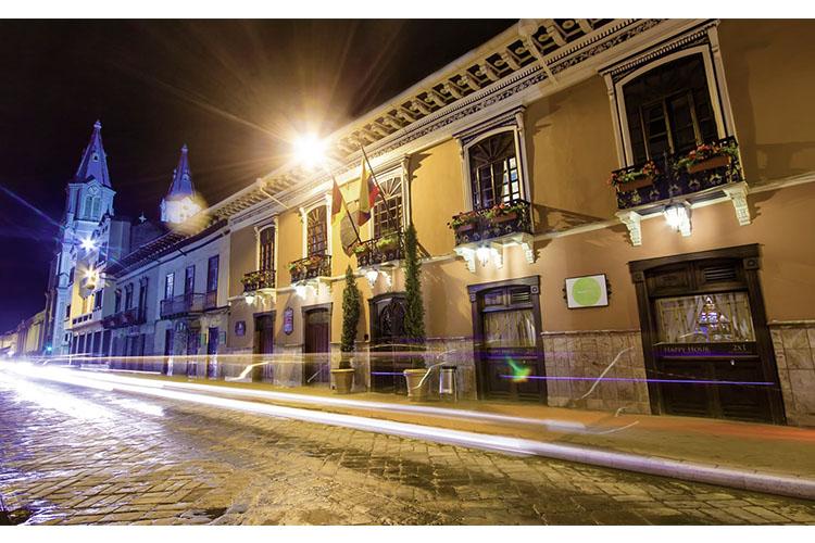 Facade - Hotel Boutique Santa Lucia - Cuenca