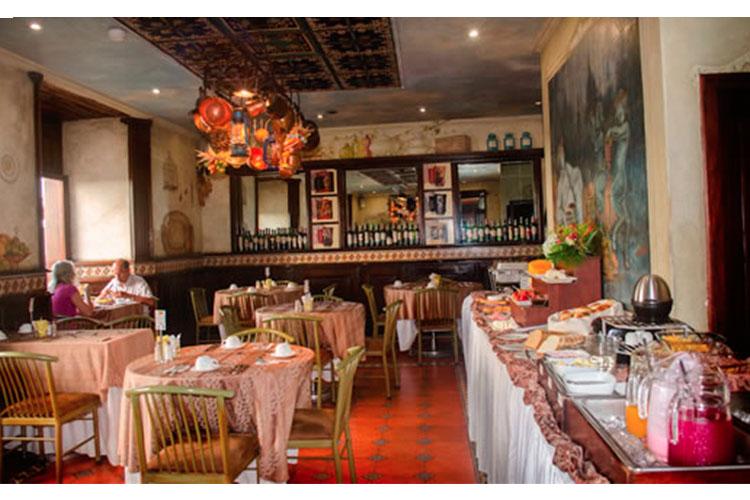 Restaurant - Hotel Boutique Santa Lucia - Cuenca