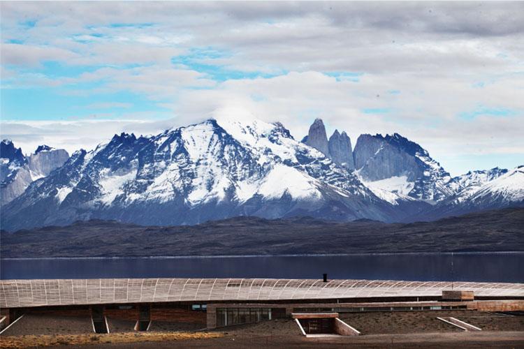 Facade - Tierra Patagonia Hotel & Spa - Torres del Paine