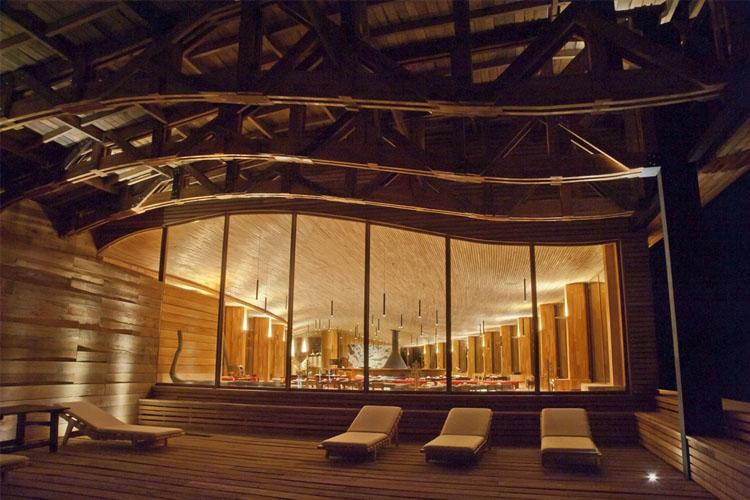 Terrace - Tierra Patagonia Hotel & Spa - Torres del Paine