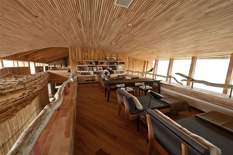 Library - Tierra Patagonia Hotel & Spa - Torres del Paine