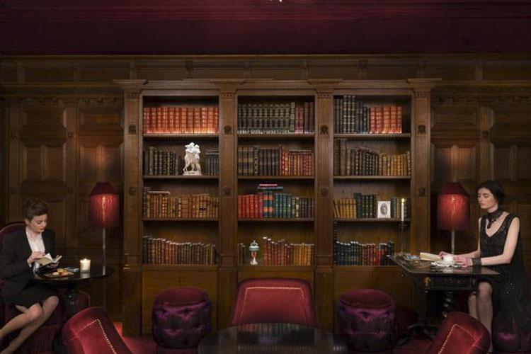 Library - Maison Souquet - Paris