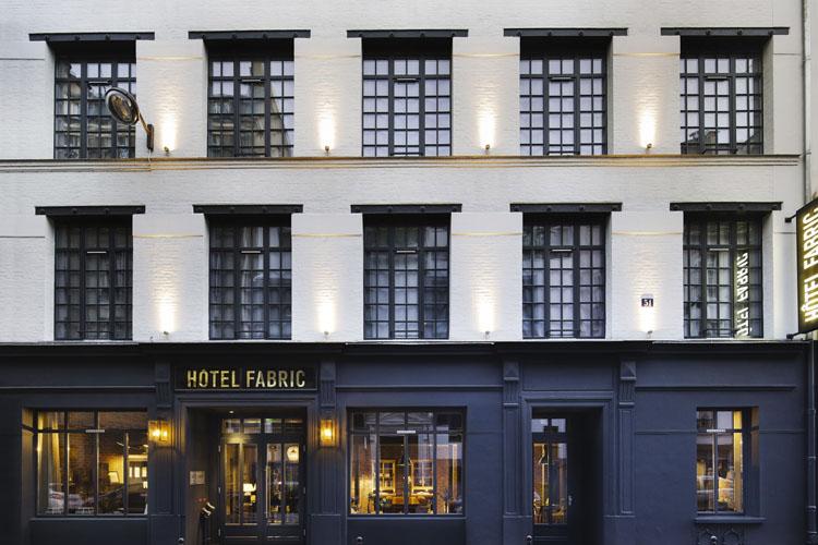 Facade - Hotel Fabric - Paris