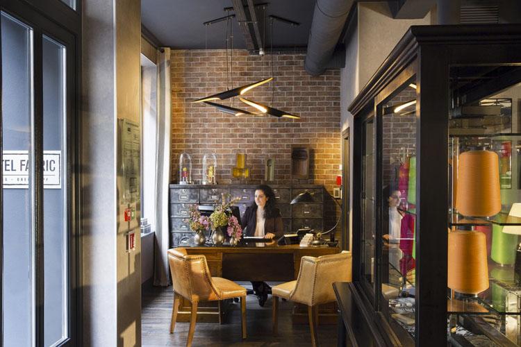 Reception - Hotel Fabric - Paris
