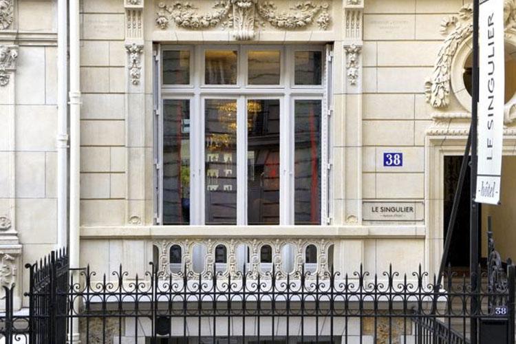 Facade - Le Singulier - Paris