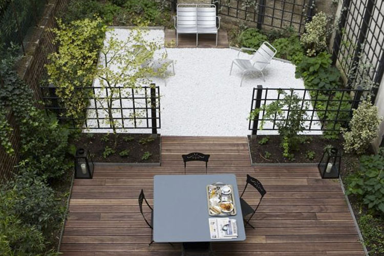 Exterior Dining Room - Le Singulier - Paris
