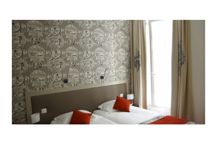 Traditional Twin Room - Hotel Residence Foch - Paris