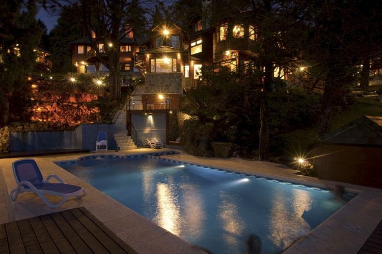 Pool - Charming Luxury Lodge & Private Spa - San Carlos de Bariloche