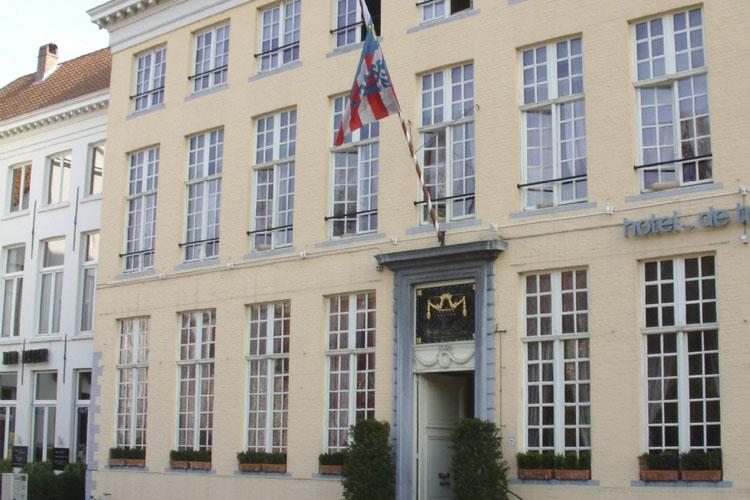 Facade - Hotel de Tuilerieën - Bruges
