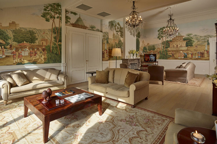 Lounge - Hotel de Tuilerieën - Bruges