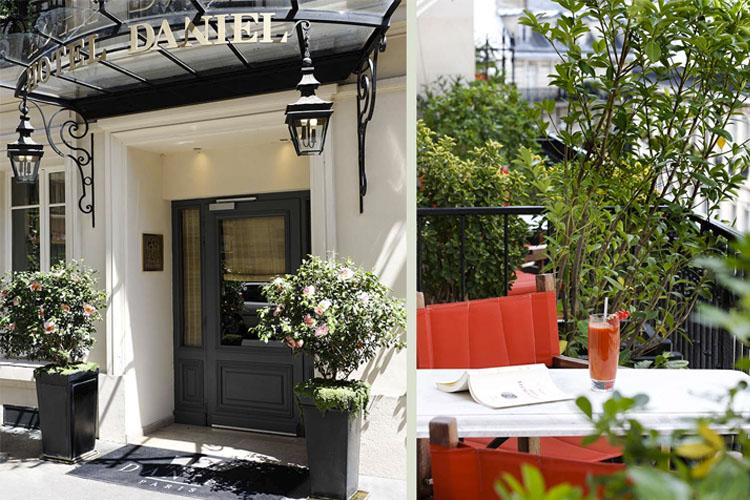 Entrance - Hotel Daniel Paris - Paris