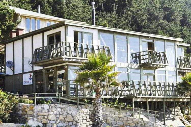 Facade - Hotel Playa el Cable - Constitución