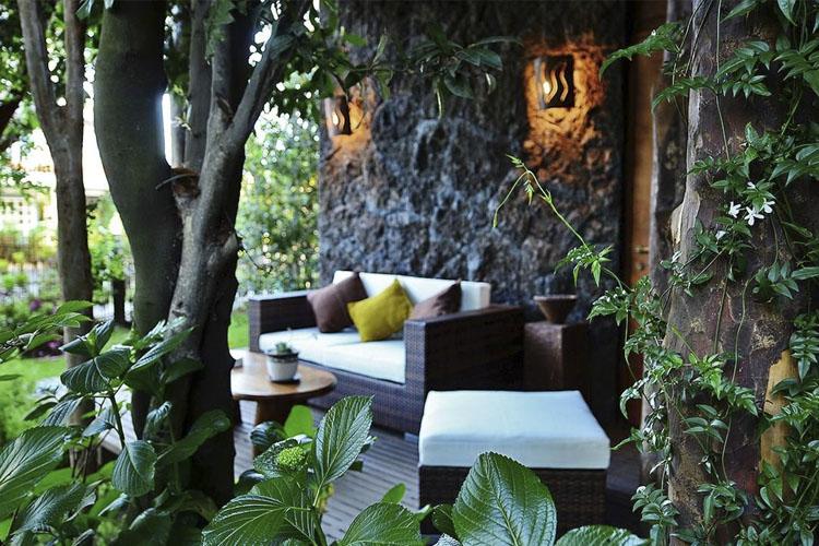 Exterior Dining Room - Aldea Naukana - Púcon