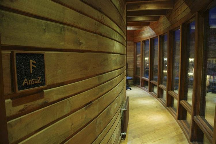 Interior - Aldea Naukana - Púcon