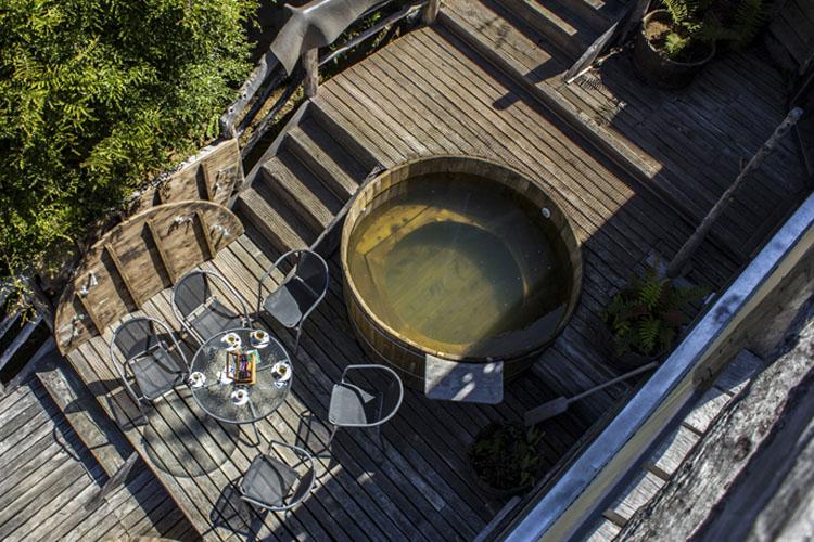 Terrace - Hotel Parque Quilquico - Castro