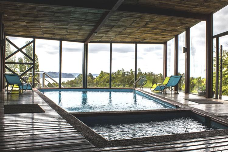 Pool - Hotel Parque Quilquico - Castro