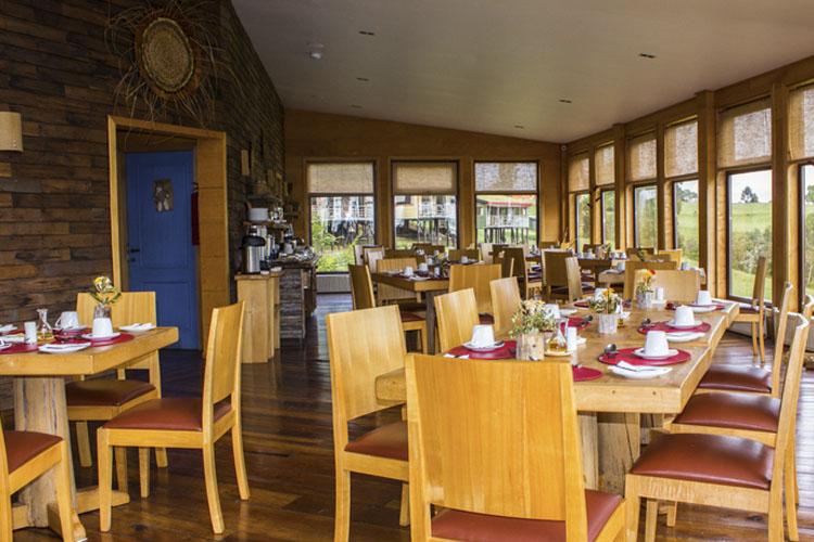 Dining Room - Hotel Parque Quilquico - Castro