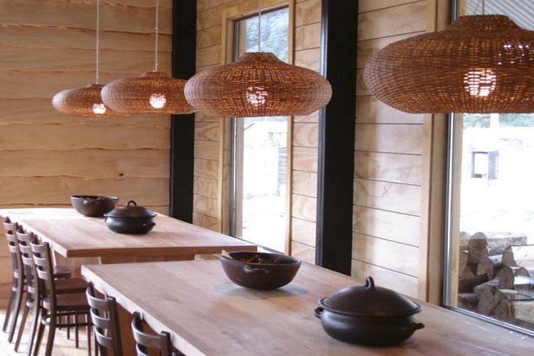 Dining Room - Robinson Crusoe. Deep Patagonia - Villa O'Higgins