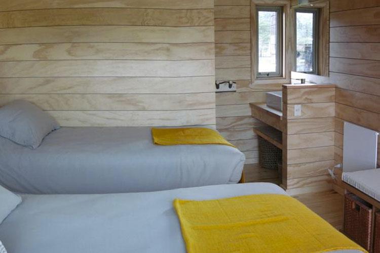 Twin Room - Robinson Crusoe. Deep Patagonia - Villa O'Higgins