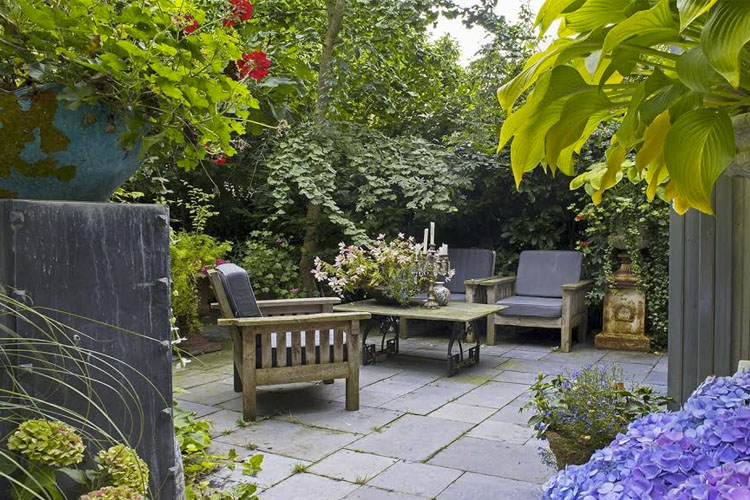 Terrace - Breitner House - Amsterdam